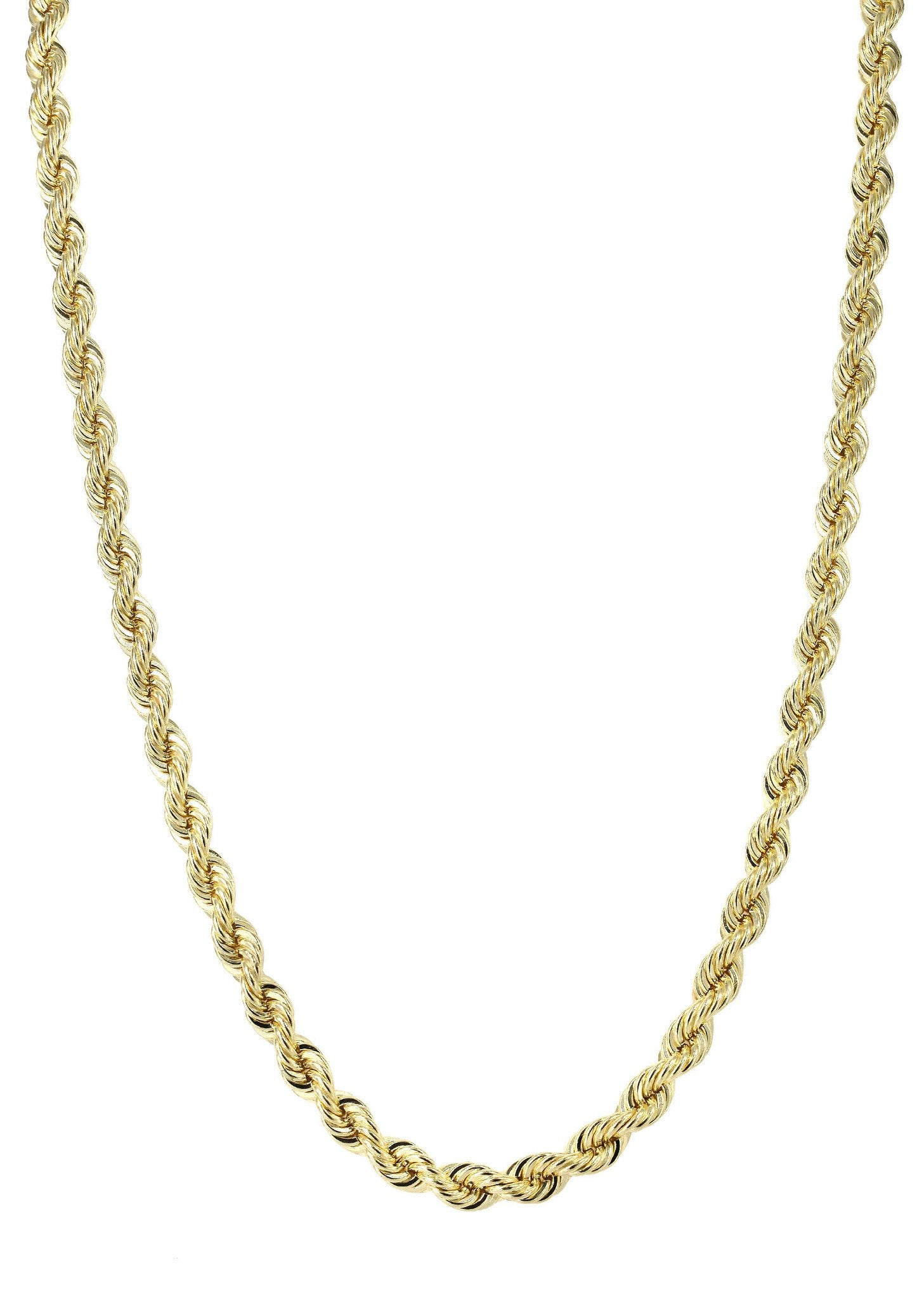 cb1da23c1 Gold Chain - Mens Solid Rope Chain 10K Gold – FrostNYC