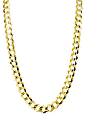 14K Gold Chain Solid Cuban
