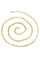 14K Gold Chain - Dog Tag Chain MEN'S CHAINS FROST NYC