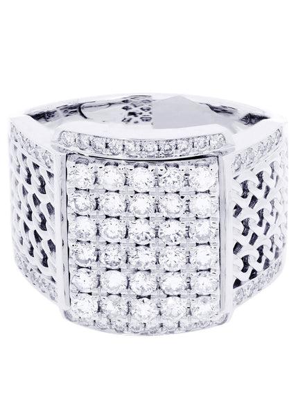 Mens Diamond Ring| 1.67 Carats| 14.83 Grams