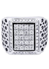 Mens Diamond Ring| 1.1 Carats| 17.97 Grams MEN'S RINGS FROST NYC