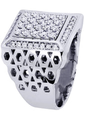 Mens Diamond Ring| 1.1 Carats| 17.97 Grams