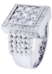 Mens Diamond Ring| 1.64 Carats| 15.17 Grams