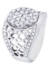 Mens Diamond Ring| 1.46 Carats| 13.7 Grams