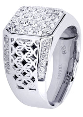 Mens Diamond Ring| 0.84 Carats| 14.01 Grams MEN'S RINGS FROST NYC