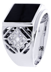 Mens Diamond Ring| 0.47 Carats| 12.25 Grams