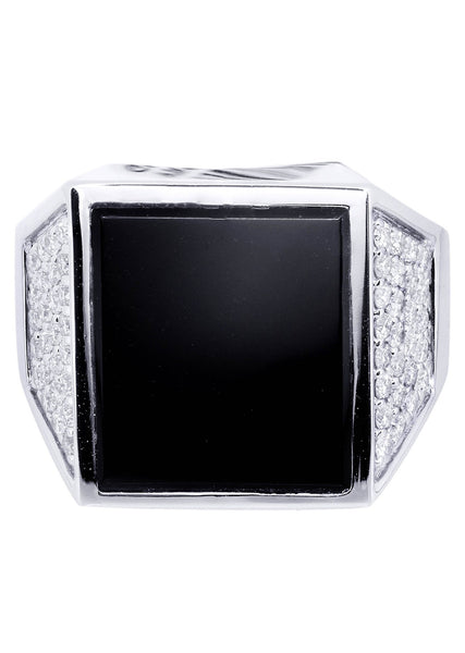 Mens Diamond Ring| 0.67 Carats| 13.66 Grams