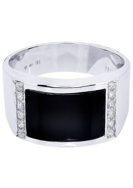 Mens Diamond Ring| 0.22 Carats| 9.6 Grams