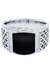 Mens Diamond Ring| 0.18 Carats| 12.91 Grams MEN'S RINGS FROST NYC