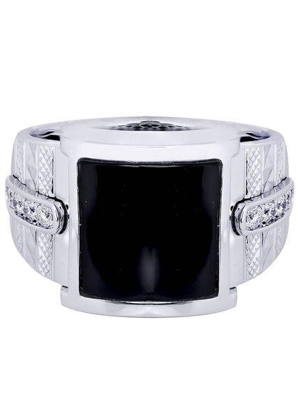 Mens Diamond Ring| 0.21 Carats| 15.67 Grams