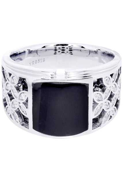Mens Diamond Ring| 0.23 Carats| 13.7 Grams