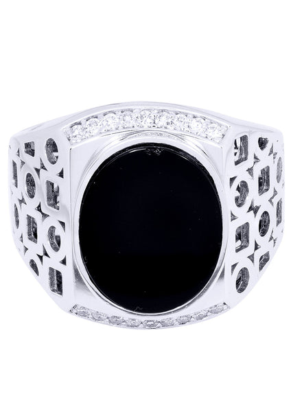 Mens Diamond Ring| 0.25 Carats| 12.29 Grams