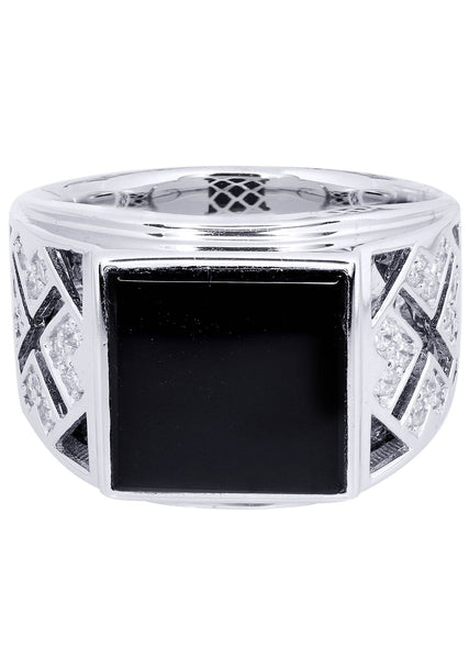 Mens Diamond Ring| 0.35 Carats| 11.98 Grams
