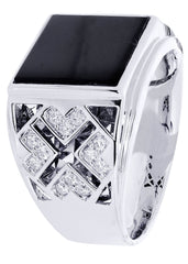 Mens Diamond Ring| 0.35 Carats| 11.98 Grams MEN'S RINGS FROST NYC