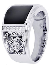 Mens Diamond Ring| 0.19 Carats| 12.33 Grams MEN'S RINGS FROST NYC