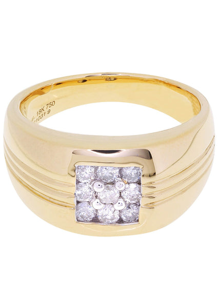 Mens Diamond Ring| 0.47 Carats| 15.52 Grams
