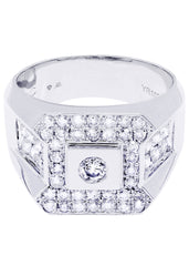 Mens Diamond Ring| 1.39 Carats| 10.9 Grams
