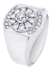 Mens Diamond Ring| 0.9 Carats| 9.05 Grams