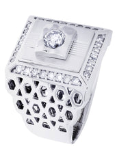 Mens Diamond Ring| 1.06 Carats| 18.39 Grams