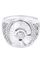 Mens Diamond Ring| 0.68 Carats| 13.69 Grams