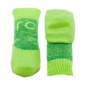 Sport Pawks in Lime Green Waterproof Dog Socks