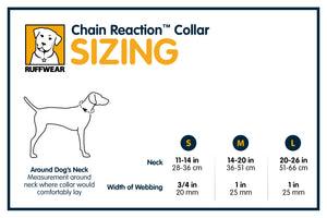CLEARANCE!  Chain Reaction Collar - Training Dog Collar in Large