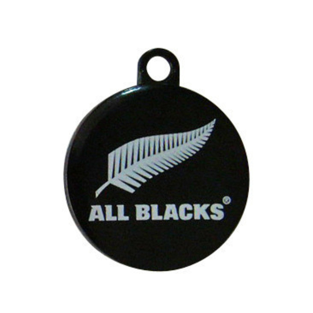 ALL BLACKS Dog Collar & Tag - Black