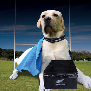 Official Licensed ALL BLACKS Dog Gear in Black