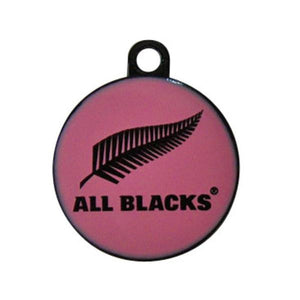ALL BLACKS Dog Collar & Tag - Sporty Pink