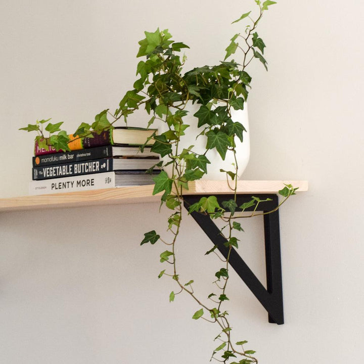 Minimalist Metal Shelving Bracket - table legs - By Plantwares™