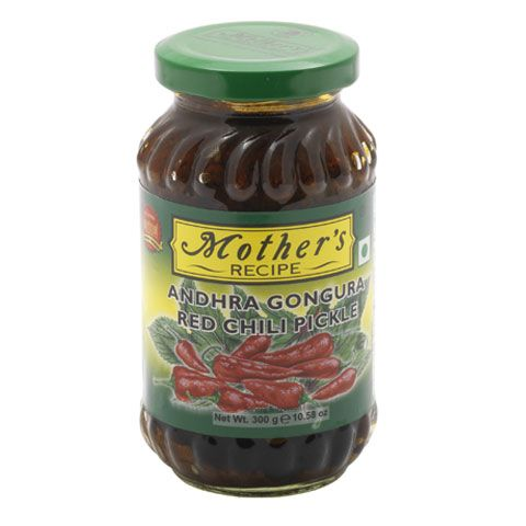 Mother's Gongura Red Chilli Pickle 300 GM (Texas)