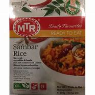 MTR Sambar Rice : RTE (Texas)
