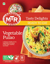 MTR  Vegetable Pulao: RTE (Texas)