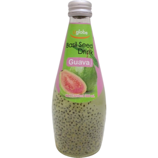 Basil seed drink (Guava)