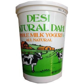 Desi Natural Yogurt Whole Milk (Texas)
