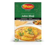Shan Aaloo Bhaji Curry (Texas)