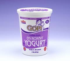 Gopi Non Fat Yogurt : Texas