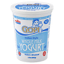 Gopi Yogurt Whole Milk : Texas