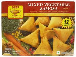 Deep Mixed Vegetable Samosa: (Texas) : 12 PCS
