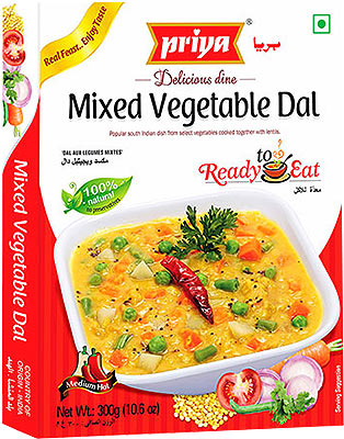Priya Mixed Vegetable Dal
