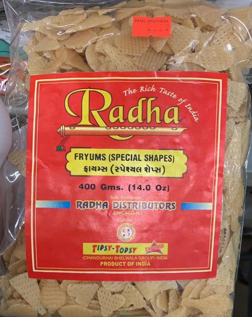 Radha Fryums (Special Shapes) : IL
