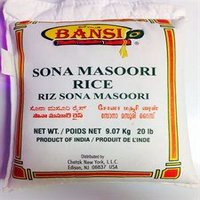 Bansi Sona Masoori Rice 20 LB : Limit 1