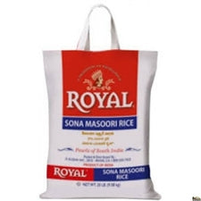 Royal Sona Masoori Rice 20 LB (Texas)