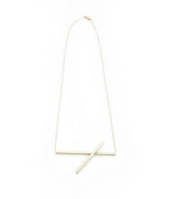 Slanted Axis Necklace