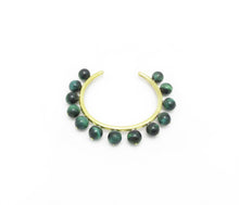 Tanok Cuff - Green Tiger's eye