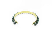 Akna Collar- Green Tiger's Eye