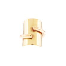 Shield Ring- Gold