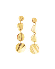 Ostra Drop Earrings- Gold