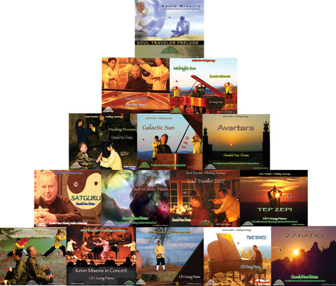 The Soul Traveler Ch'i Gung  (Qigong) Piano  Healing Music Collection