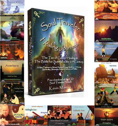 Soul Traveler - Healing Journeys & the Ch'i Gung (Qigong)  Piano Healing Music, Video & Book Set